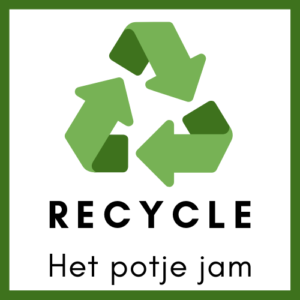 recycle fruit jam potje