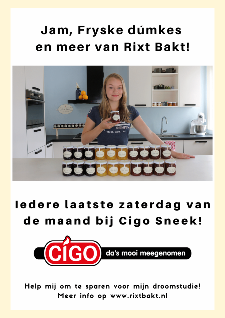 Jam, Fryske dúmkes iedere laatste zaterdag van de maand bij Cigo Sneek